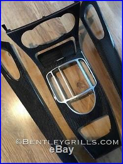 Mercedes Sl R230 Sl55 Amg Carbon Fiber Fibre Interior Trim Kit 05-11
