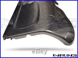 NRG Black Carbon Fiber Interior Deck Lid 03-05 Honda Civic HB Part# CARB-IL-120
