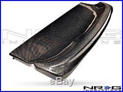NRG Black Carbon Fiber Interior Deck Lid 94-01 Acura Integra HB Part CARB-IL-400
