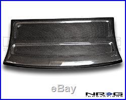 NRG Black Carbon Fiber Interior Deck Lid 96-00 Honda Civic HB Part# CARB-IL-110