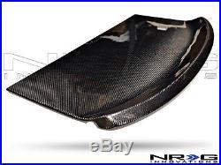 NRG Black Carbon Fiber Interior Deck Lid for 88-94 Nissan 240SX CARB-IL-500