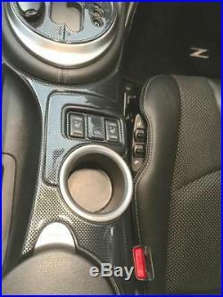Nissan 370z 370 Z Interior Carbon Fiber Dash Trim Kit 2013 2014 2015 2016 2017