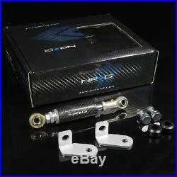 Nrg Aluminum Engine Torque Damper For 90-01 Integra Dc1 Dc2 B16 B18 Carbon Fiber