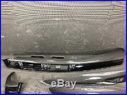 OEM 2014-2018 BMW F85 F15 X5 X5M Interior Dash Trim Molding Carbon Fiber Set