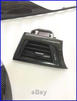 OEM BMW F30 F34 F36 3 SERIES Carbon Fiber Interior Dash Trim Panels Air Vent