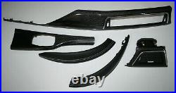 OEM BMW M4 F82 F32 M3 F80 4 coupe Interior Trim Set gloss CARBON FIBRE RHD