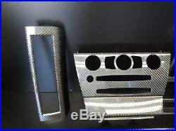 OEM Genuine BMW'04-07 e63 e64 645ci 650i M6 Carbon Fiber Interior Trim Set L3