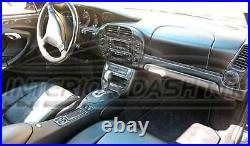 Porsche 911 996 Carrera Interior Real Carbon Fiber Dash Trim Kit 2002 2003 2004