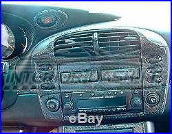 Porsche Boxster 986 Interior Real Carbon Fiber Dash Trim Kit 1998 1999 2000 2001