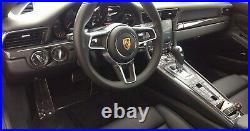 Porsche OEM 991 911 2013-2019 Carbon Fiber Interior Trim Set Brand New
