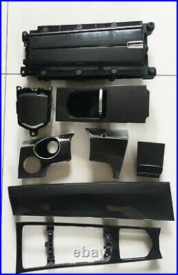 Porsche Panamera 970 10-16 Set Interior Carbon Fibre Trim Interior Genuine