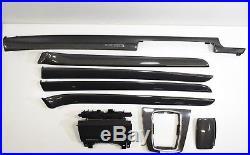 RHD UK AUDI RS4 S4 A4 B6 B7 8E Carbon fiber Decor Interior Trim Moulding Set