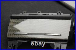 RHD UK AUDI S4 RS4 B6 B7 8H Convertible Carbon fiber Interior Trim Set Black