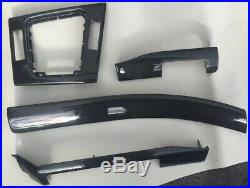Rare Genuine Bmw E46 M3 Interior Dash Trims / Gear Surround / Carbon Fibre