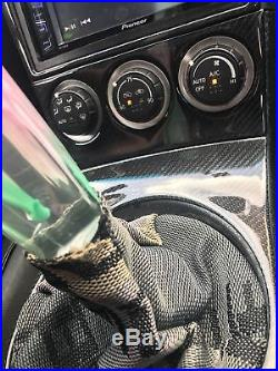 Real Carbon Fiber Dash Kit 350Z 03-05 manual trans- interior trim accessories