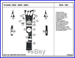 Real Carbon Fiber Dash Kit for 350Z 03-05 Automatic interior trim accessories