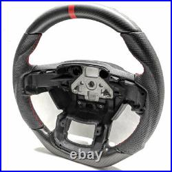 Real Matte Carbon Fiber Steering Wheel for 2015-2020 Ford F150