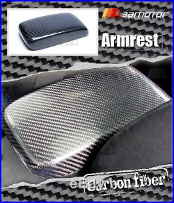 Replacement Carbon Fibre Interior Armrest Lid Cover for Mitsubishi EVO 7 8 & 9