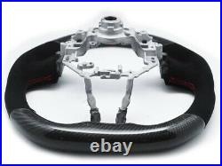Steering Wheel for 2012-16 Toyota GT86 / Subaru BRZ Mk1 Carbon Fiber Alcantara