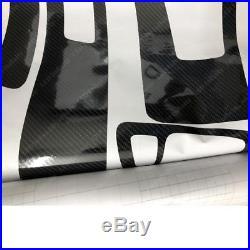 Stylish 5D Reflective Carbon Fiber Interior Trim Sticker For BMW 3 Series E92