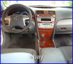 Toyota Camry Ce Se Le Xle Hybrid Interior Wood Dash Trim Kit Set 2007 2008 2009