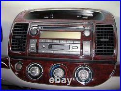 Toyota Camry Ce Se Le Xle Interior Burl Wood Dash Trim Kit Set 2002 2003 2004 04
