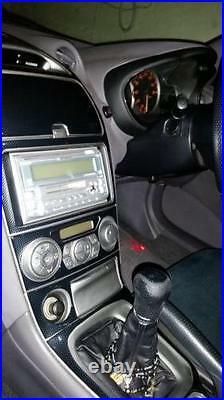 Toyota Celica Interior Zzt23 Carbon Fibre Fiber Dash Trim Kit 2000 2001 2002 03