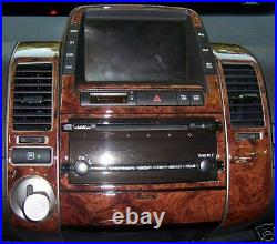 Toyota Prius Base Interior Wood Dash Trim Kit Set 2004 2005 2006 2007 2008 2009