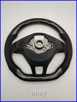 Volkswagen Golf MK7 / Polo MK5 / Polo MK6 Genuine Carbon Fibre Steering Wheel