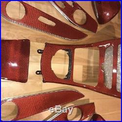 W205 C-Class Carbon Fiber Interior C300 C450 C43 C63 AMG @revotechmotorsport